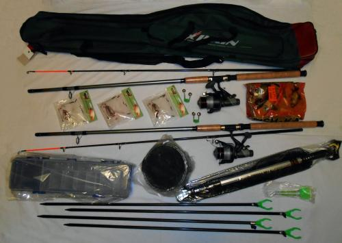 набор рыболова комплект удочек